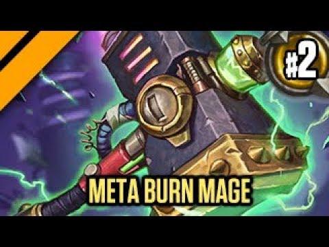 Hearthstone: Boomsday Laddering - Meta Burn Mage P2