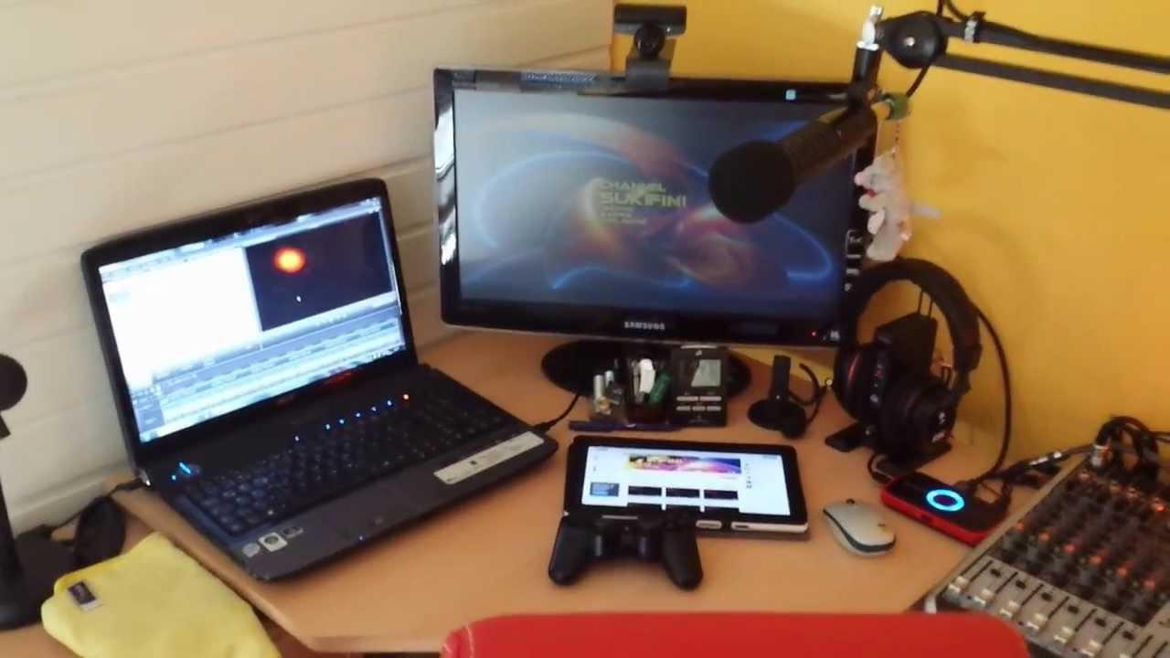 mein mini home recording studio youtube