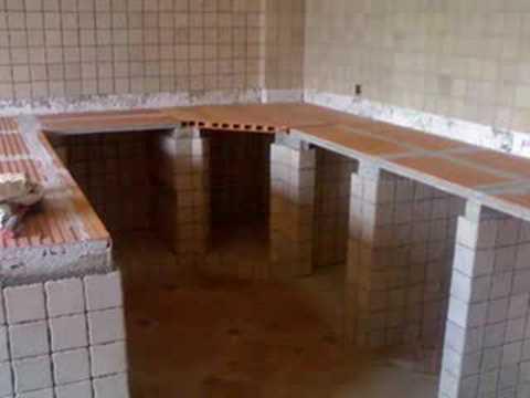 Cocina Hechas De Concreto: Construcción de cocina empotrada en ...