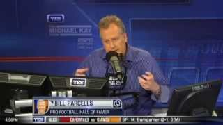 Bill Parcells on Bill Belichick and not drafting Tom Brady - The Michael Kay Show
