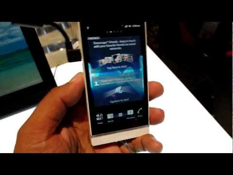 Sony Xperia S hands-on - nice new Android phone w/ great screen
