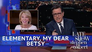 Betsy DeVos Flunked Her '60 Minutes' Test
