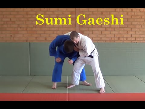 University of Judo - Sumi gaeshi options