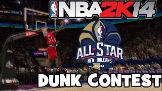 NBA 2k14 All Star Weekend Sprite Slam Dunk Contest
