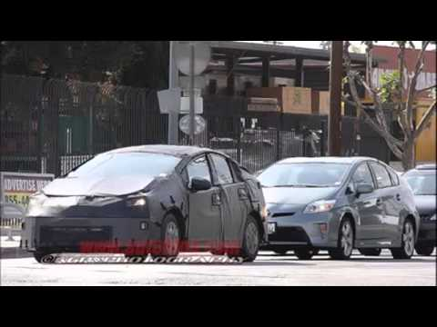 2015 TOYOTA PRIUS SPOTTED IN CALIFORNIA