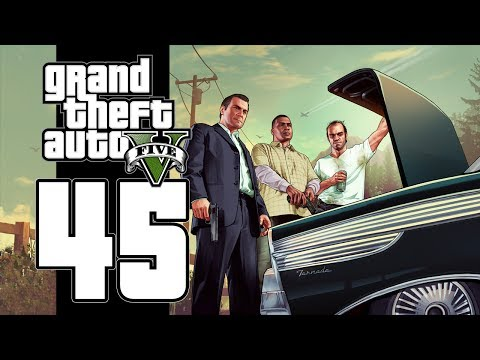 Let's Play GTA V (GTA 5) - EP45 - Big Bank Heist