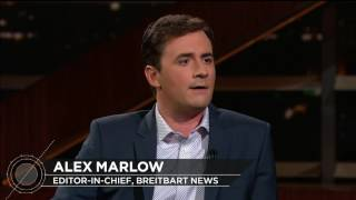 Breitbart Editor Alex Marlow | Real Time with Bill Maher (HBO)