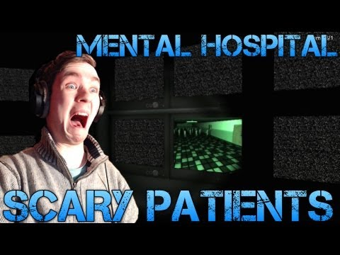 Mental Hospital - SCARY PATIENTS - Indie Horror Game Playthrough/Facecam reaction