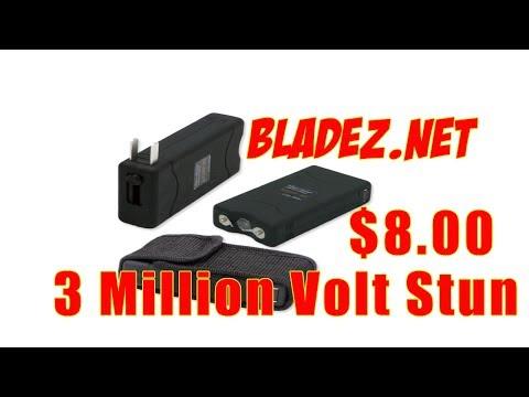 Wholesale Stun Guns   3 Million Volt Stun Gun $8.00 Bladez.net Daily Deals