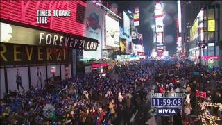 Time Square Ball Drop 2013 New York City New Year's Eve