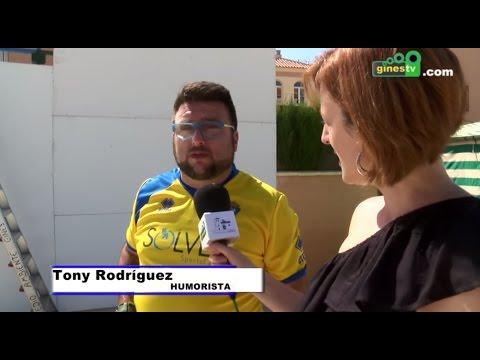 Entrevista al humorista gaditano Toni Rodríguez