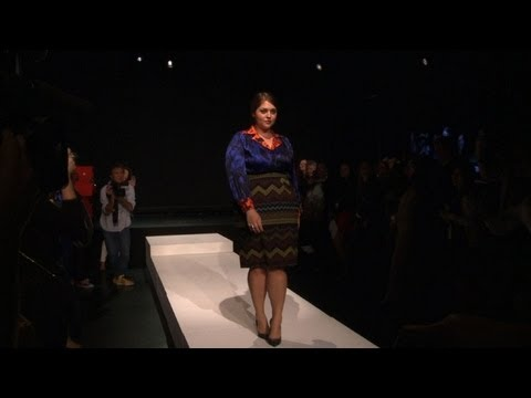 Plus-size women in focus, in NY fashion week first