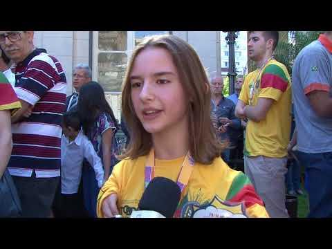 Governo homenageia medalhistas de Jogos Escolares e Futebol para Cegos