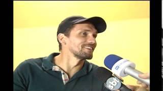 Comiss�o t�cnica do Cruzeiro e Paulo Andr� na Arena JK
