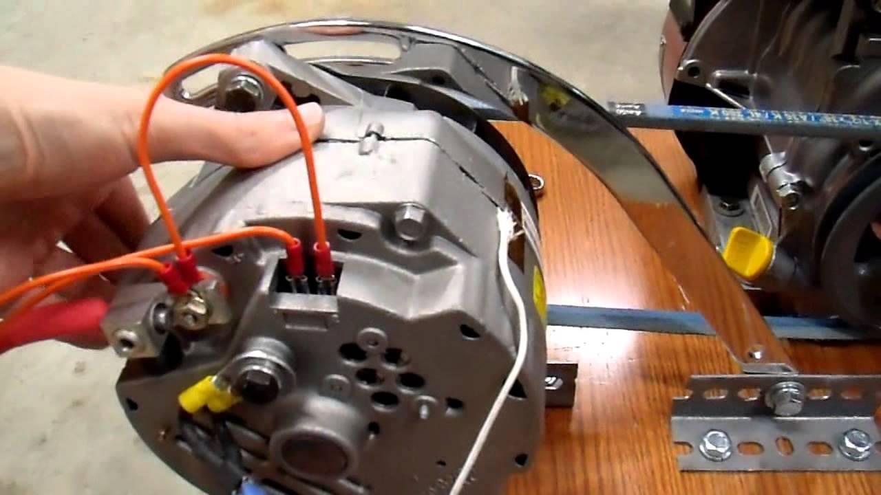 Diy 12v Generator Charger 7 Belt Drive Update Youtube