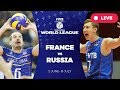 France v Russia Group 1 2017 FIVB Volleyball World League