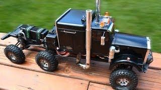 "RC ADVENTURES 6WD Concept Semi-Truck ""Project HD"
