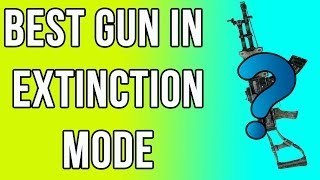 Best Gun In Extinction Mode! (Call Of Duty Ghosts)