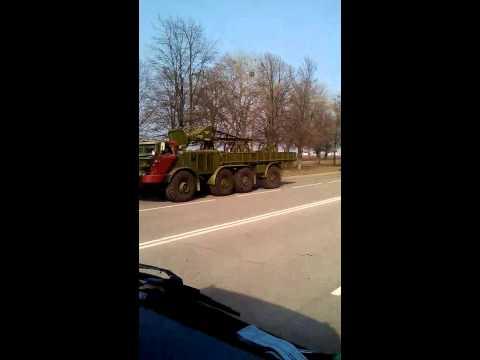Сумська область. Системи залпового вогню Ураган  (06.03.2014)