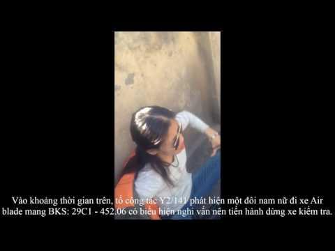 NK141 mới nhất  Nữ quái giằng co với cảnh sát chiếc áo giấu
