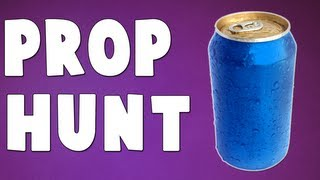 SODA CAN REDEMPTION! (Gmod Prop Hunt with Friends)