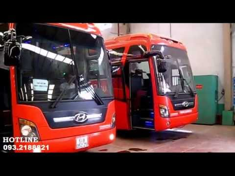 Xe Khách Hyundai Universe Noble Giường Nằm TRACOMECO