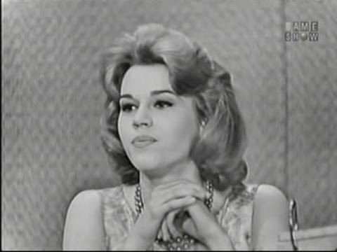 What's My Line? - Jane Fonda;  Martin Gabel [panel; Polly Bergen [panel] (Apr 3, 1960)