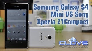 Sony Xperia Z1 Compact VS Samsung Galaxy S4 Mini