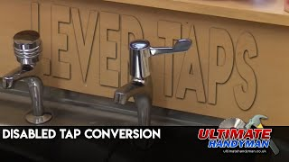 Disabled tap conversion