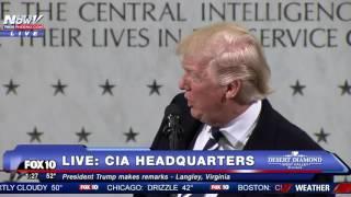 FULL SPEECH: Donald Trump CIA Headquarters Statement