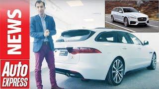 New Jaguar XF Sportbrake estate revealed: We take the tour.... Auto Express.