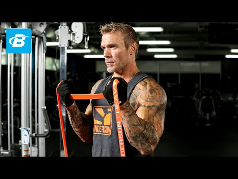 Ultimate Full Body Resistance Band Strength Workout | James Grage