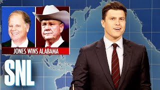 Weekend Update on Doug Jones Defeating Roy Moore - SNL