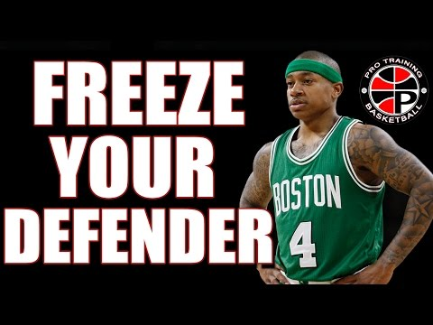 3 Moves To Freeze Defenders | How To Blow By Defenders | Pro Training Basketball