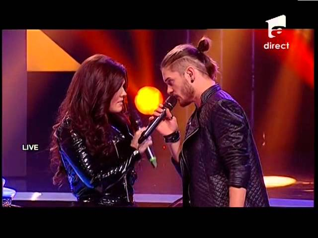 "Alex Maţaev feat. Paula Seling - Pink - ""Just Give Me A Reason"" - X Factor Romania, sezonul trei"