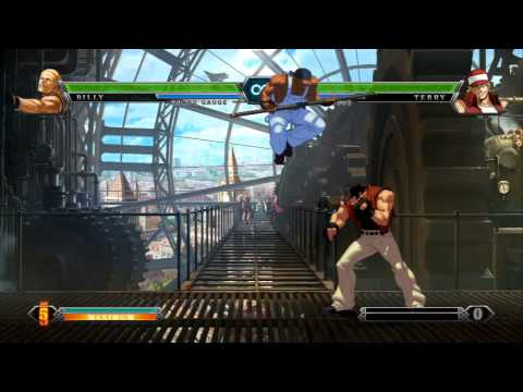 "THE KING OF FIGHTERS XIII ""Console Combo Showcase"" Trailer"