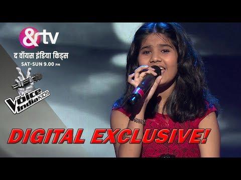 Deblina Nath Performs On Roz Roz Aankhon Tale | Sneak Peek | The Voice India Kids - Season 2