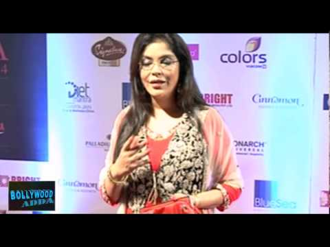 Zeenat Aman At The Femina Miss India 2014 Event Red Carpet