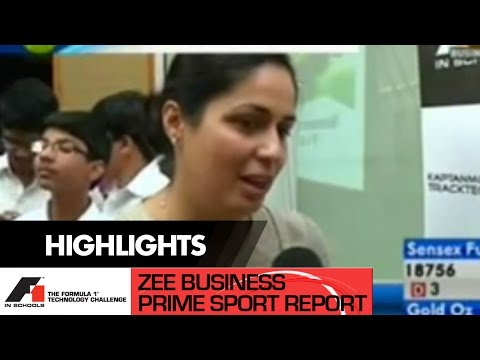 Zee Business Prime Sport 25 Oct 2012 02min 52sec F1 In School   Mr  Aditya   Indian Coordinator, F1 in School 22 16pm