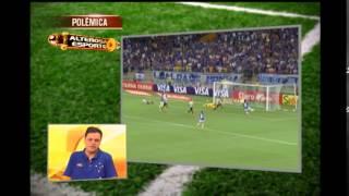 Bancada discute lances pol�micos de Cruzeiro x Santos