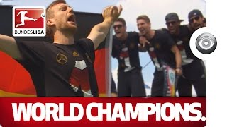 The World Cup Winners Return - Germany Celebrate in Berlin