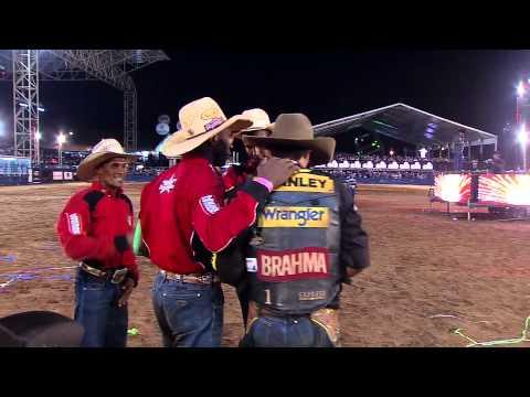 Silvano Alves - Montaria da Final Brahma Super Bull PBR 2012