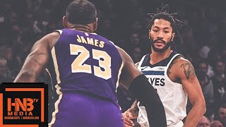 Los Angeles Lakers vs Minnesota Timberwolves Full Game Highlights | 11.07.2018, NBA Season