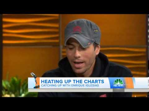 Enrique Iglesias talks about new album 'Sex and Love'