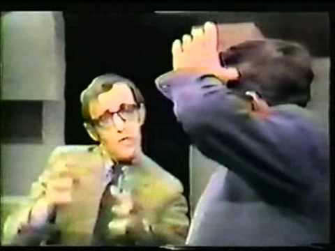 Woody Allen vs William Buckley - FUNNY