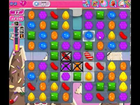 How to beat Candy Crush Saga Level 48 - 1 Stars - No Boosters - 72
