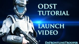 HOW TO MAKE A HALO ODST Costume ( THE LAUNCH VID )