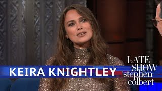 Keira Knightley Grew Up Obsessed With Emma Thompson Movies