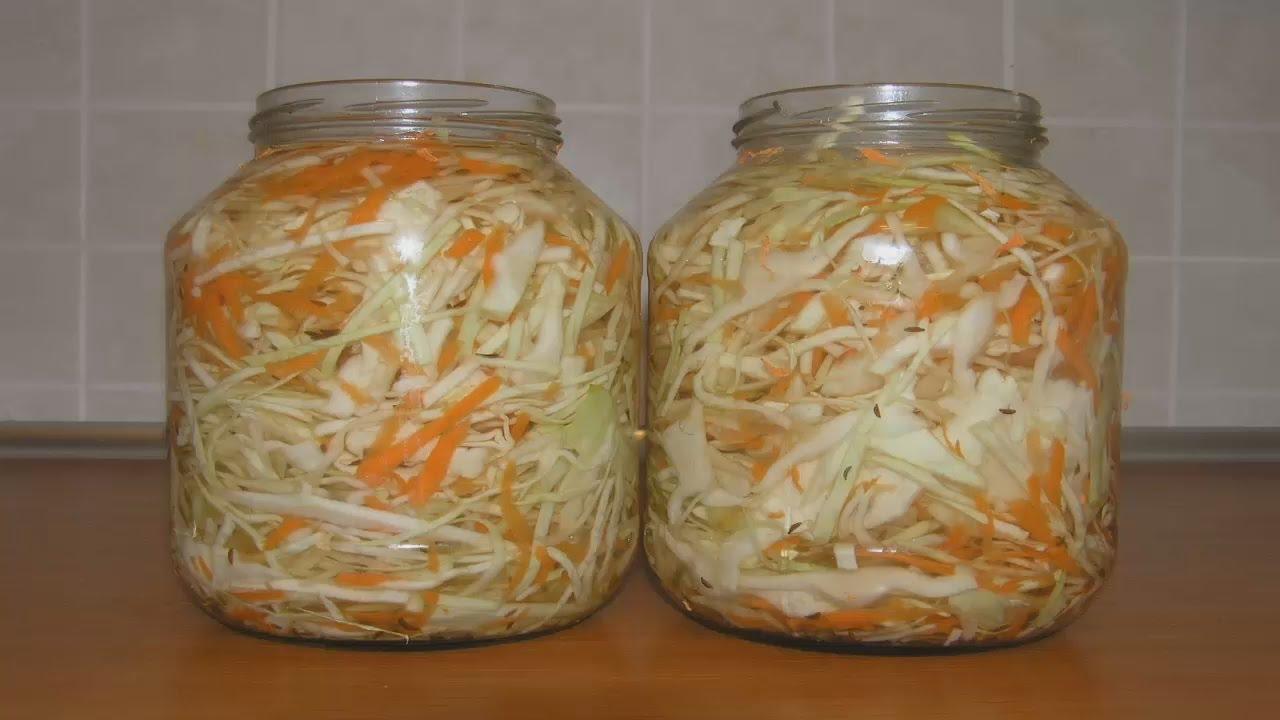 Как сделать маринованные капусту