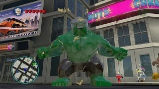 LEGO Marvel Super Heroes Every Playable Character